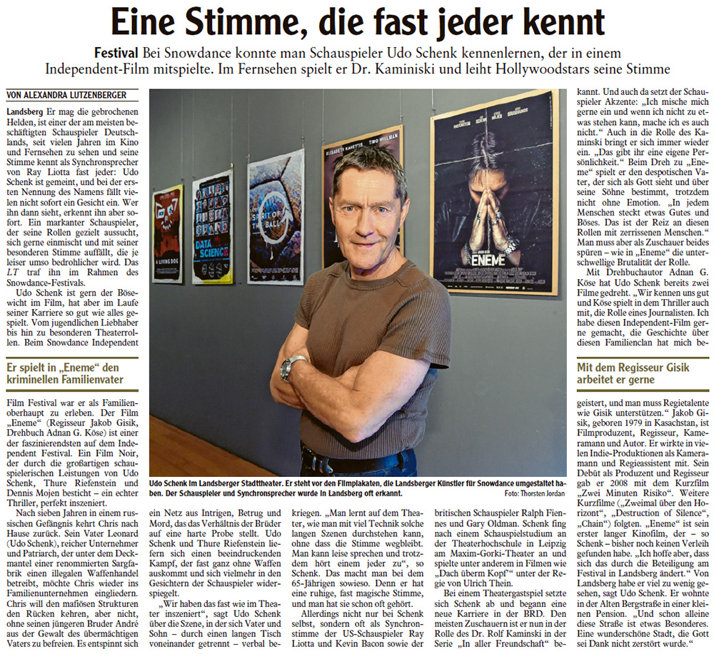 udo schenk eneme interview